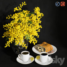 Decorative set                                      3D Model