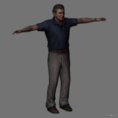 Mike Stewart 3D Model