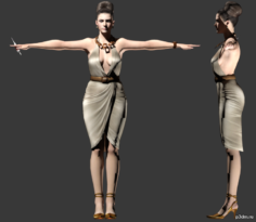 Excella Gionne 3D Model