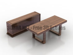 Opiom table console 3D Collection