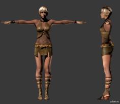 Sheva Alomar (Clubbin) 3D Model