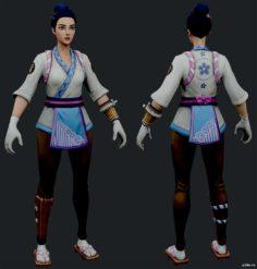 Maki Master 3D Model