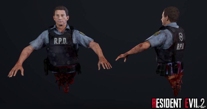 Eliot Edwards (Dead) 3D Model