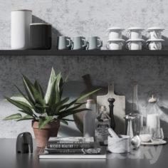 Kitchen set 6                                      3D Model