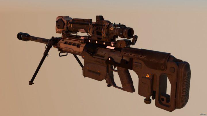 Paladin BO4 Sniper 3D Model