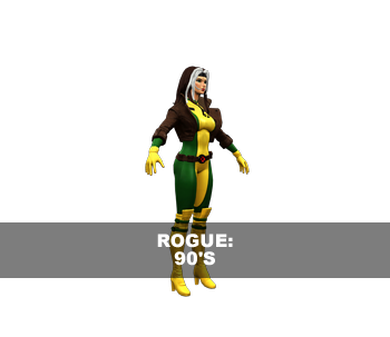 Rogue: 90's 3D Model