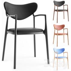 Salon Chair – Beech Black by True North Designs                                      3D Model