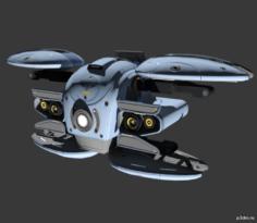 Gremlin MK 3 3D Model