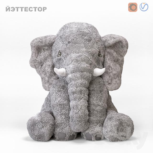 ELEPHANT YETTESTOR IKEA                                      3D Model