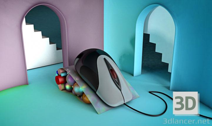 3D-Model  Mouse