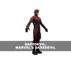 Daredevil: Marvel's Daredevil 3D Model