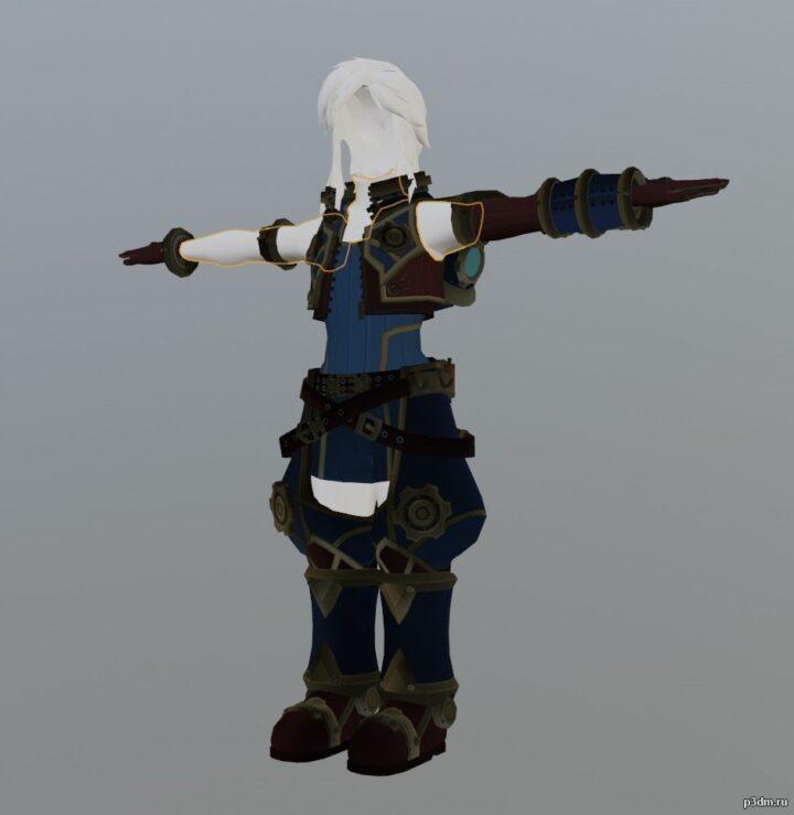 Armor 185 3D Model