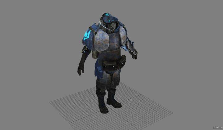 Combine heavy 3D Model