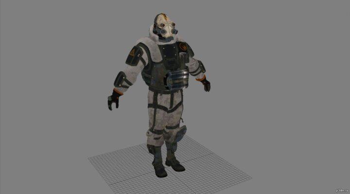 Combine suppressor 3D Model