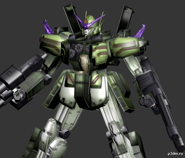 Gundam Heavyarms 3D Model