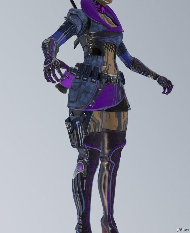 Loba – Assassin skin 3D Model
