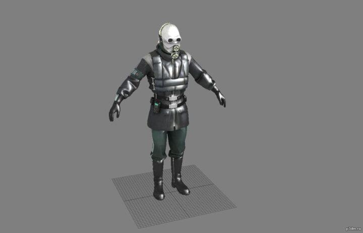 Metro cop 3D Model