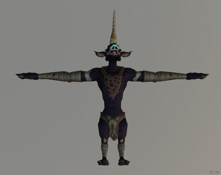 Moriblin 3D Model