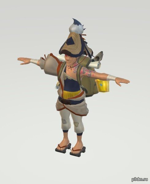 Shiekah Artist 3D Model