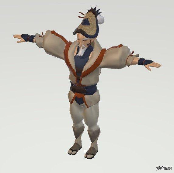Shiekah Escort 00 3D Model