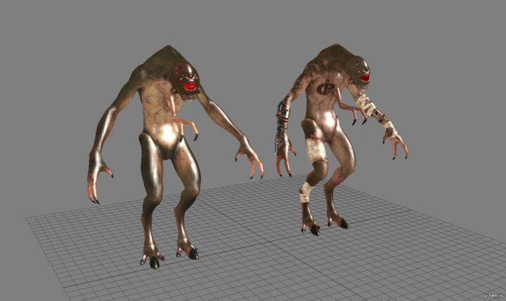 Vortigaunt 3D Model