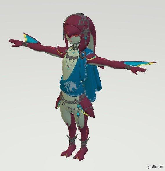 Zora Hero 3D Model