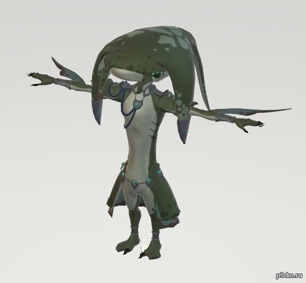 Zora Priest 3D Model