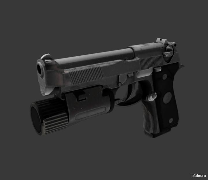 9mm 3D Model