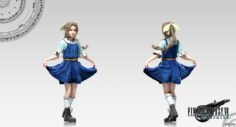 Aerith (7 Years Old) 3D Model