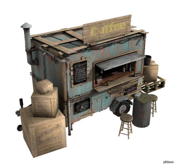 Закусочные 3D Model