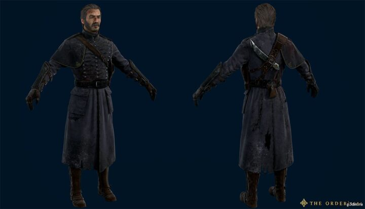 Galahad Infiltration Injured 3D Model