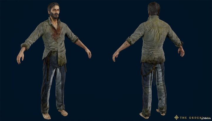 Galahad Prisoner 3D Model