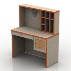 Locker 3D Model