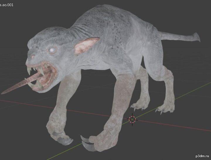 Nameless 3D Model
