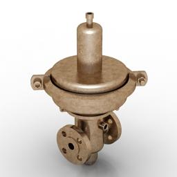 Pressure reducing valve 3D Model