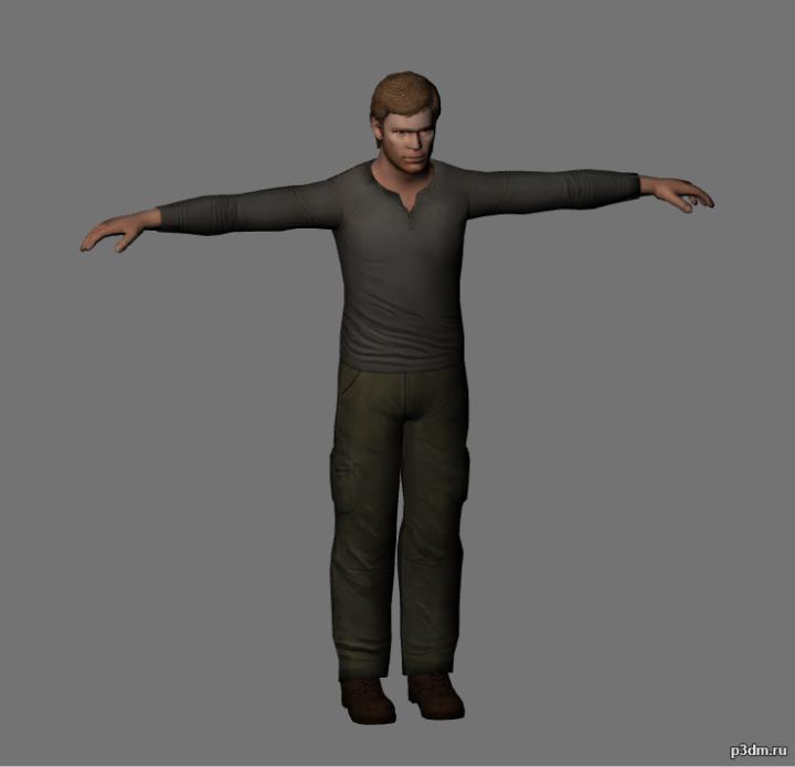 Dexter Morgan 3D Model