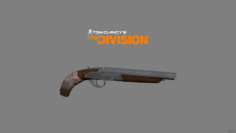 Double Barrel Sawed Off 3D Model