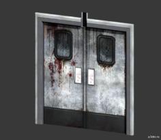 Kitchen Door 3D Model