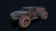 Mad car 2 3D Model