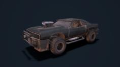 Mad car 3D Model