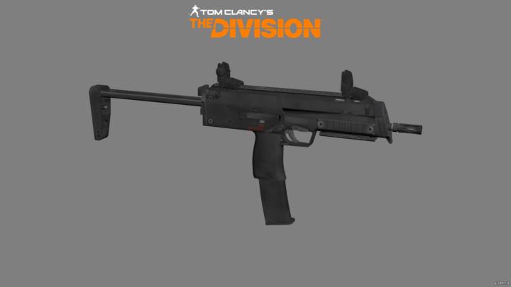 MP7 3D Model