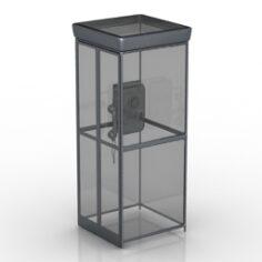 Call-box 3D Model