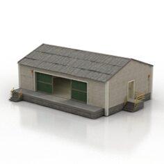 Hangar 3D Model