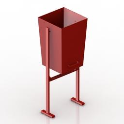 Bin 3D Model