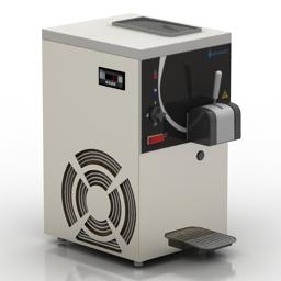 Freezer 3D Model
