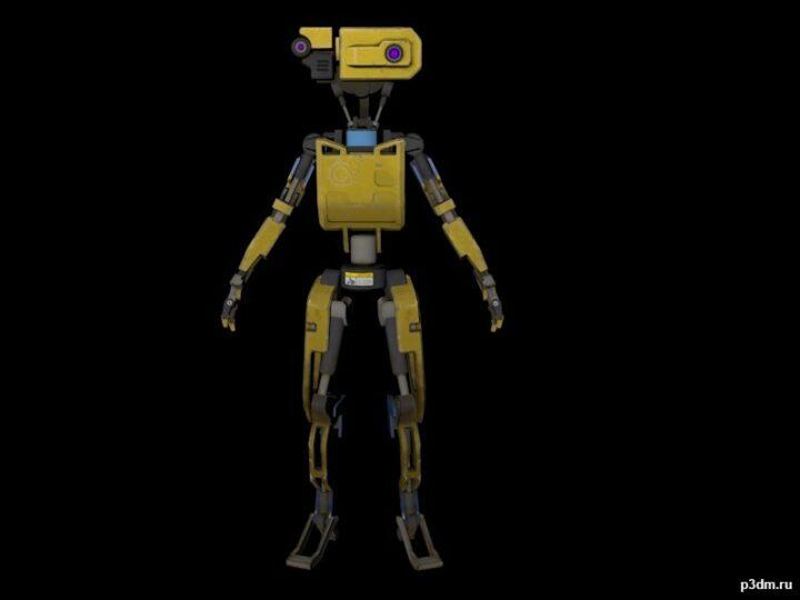 Plunder Bot 3D Model