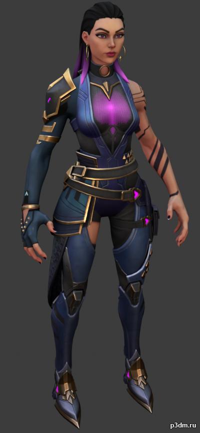 Reyna (Vampire) 3D Model
