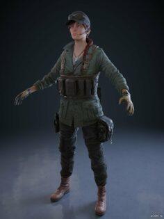 Ash Sidewinder Elite 3D Model