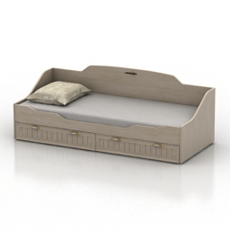 Bed 3D Model