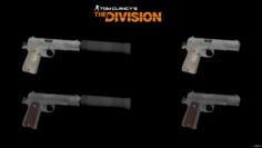 Centurion & M1911 3D Model